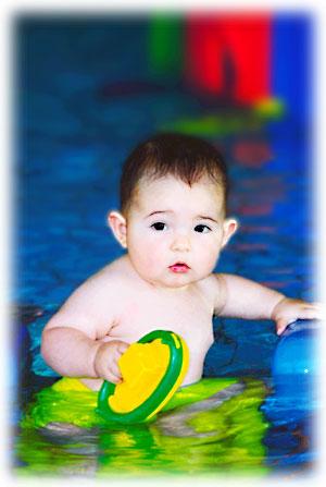 acquaticità neonato - nuoto